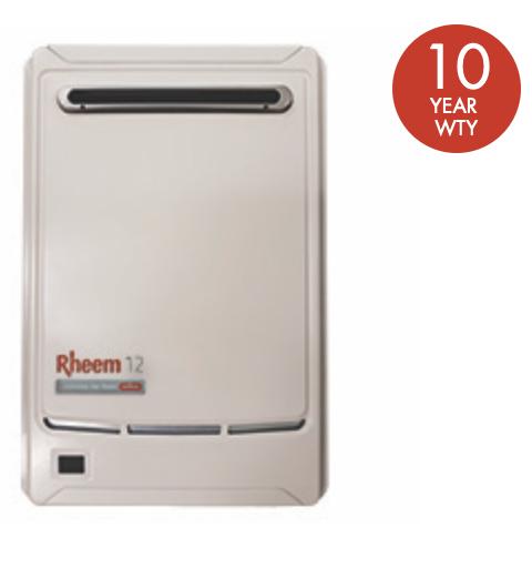 Rheem 12, Rheem instant hot water